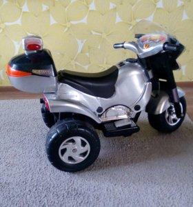 Электрический мотоцикл.