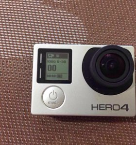 Экшн-камера Go Pro hero 4 silver