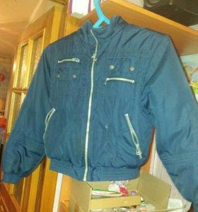 Куртка на мальчика р 38
