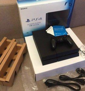 PS4 (на 1TB Матовая) + 55 игр + PS Плюс (подписка)
