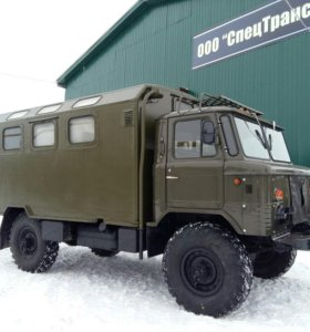ГАЗ-66 ВОЕННЫЙ КУНГ ФУРГОН