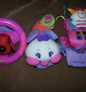 "игрушки на коляску ""гуливер"""