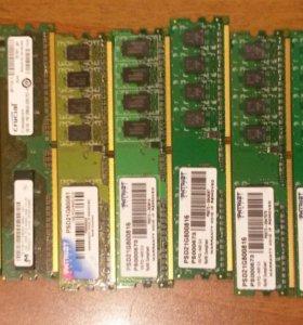 Память DDR2 1 гб