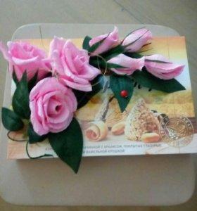Букеты цветов из конфеток