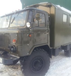 ГАЗ-66 военный фургон кунг