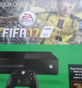 Продам Xbox One 500Гб/два геймплея