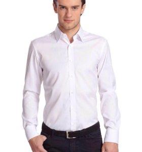 белая рубашка М (46-48)