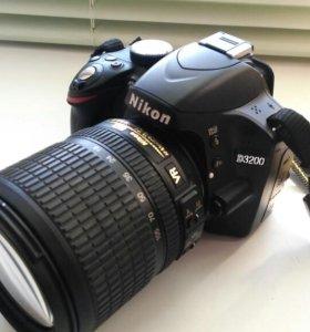 фотоаппарат Nikon d3200 объектив 18-105
