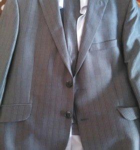 Костюм( Пиджак,брюки,рубашка,туфли)