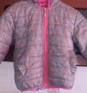 Куртка для девочки 98-106