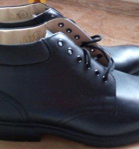 ботинки кожа 43р