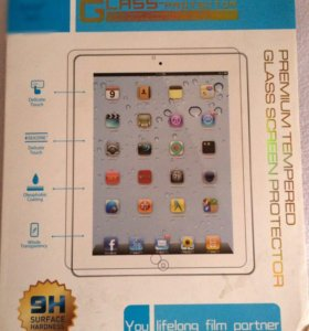 Защитное стекло (iPad Air)