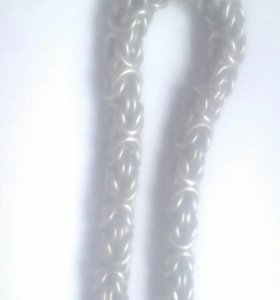 Мужская серебряная цепь!