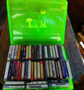 Коллекция касет ретро продам