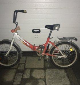 Детский велосипед складной