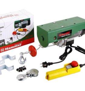 Электрическая лебёдка Hammerflex ETL 930