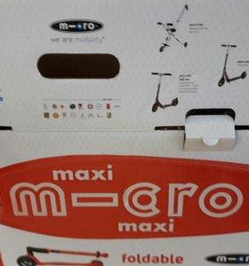 Новый самокат Микро Макси