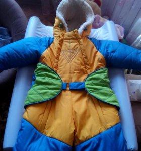Зимний камбез как на девочку так и на мальчика
