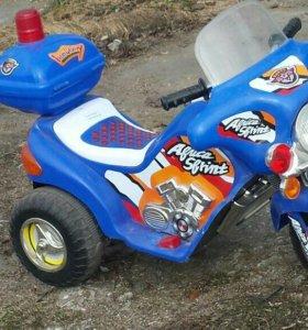 Мотоцикл на аккумуляторе