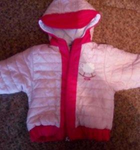 Куртка детская на девочку1-2года