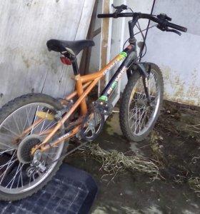 Велосипед детcкий. Скоросной