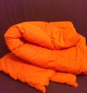Одеяло пуховое с подушкой