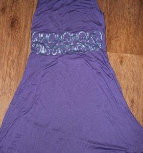 Коктельное трикотажное платье