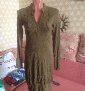 Платье 3suisses в стиле милитари