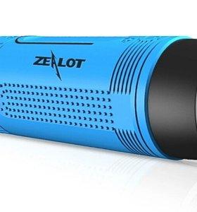 Zealot S1 Фонарик колонка Bluetooth mp3