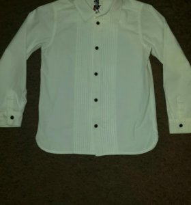4 рубашки  р. 140см