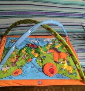 Игровой коврик для малыша от 0 и 1,5 годика..