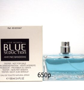 Antonio Banderas Blue Seduction 100мл оригинал