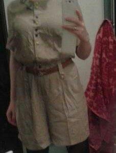 Комбез и платье