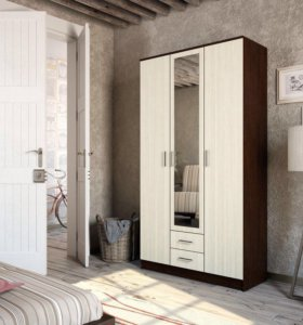 Шкаф фиеста с 3 дверцами