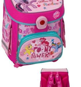 Рюкзак ортопедической My little pony.