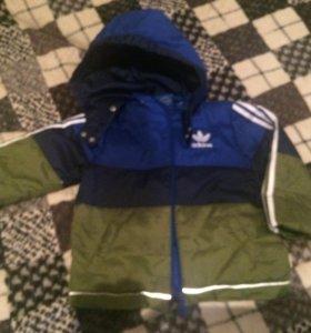 Куртка Адидас 18 месяцев