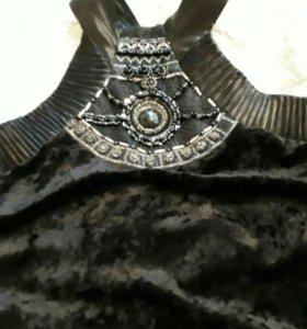 Платье-туника р.42