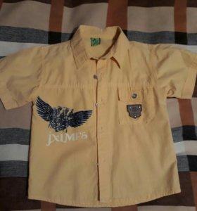 Рубашка. На 4-5 лет