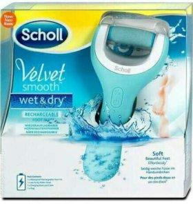 Электрическая роликовая пилка Scholl Wet & Dry
