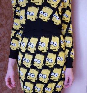 Новый костюм Бард Симпсон