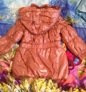 Куртка для девочек размер 122