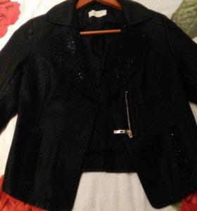 Куртка кожаная,состояние отличное,размер 36