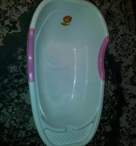 Ванная, горка, стульчик для купания.