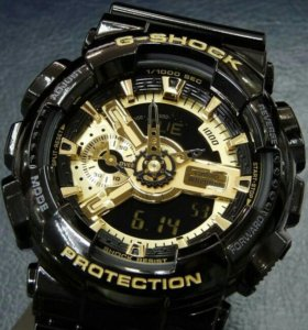 g-shock Черное Золото Новые, в коробке