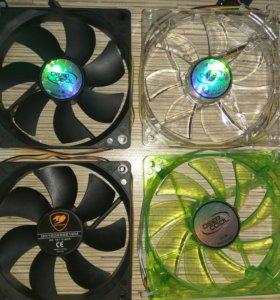 Вентиляторы (120мм) для корпуса 3pin
