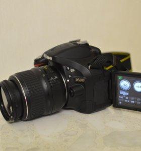 Nikon D5200 18-55mm 24мпикс