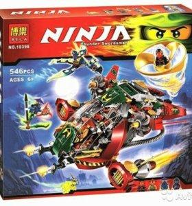 Конструктор Bela Ninja 10398 аналог LEGO