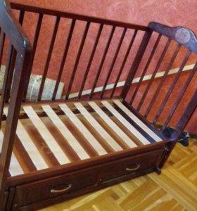 """Детская кроватка """"Зайчики"""""""