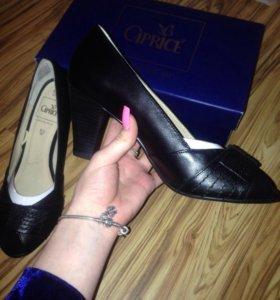 Новые кожаные туфли Caprice 🦋