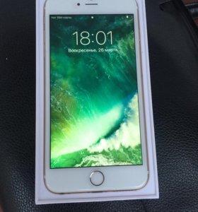 iPhone 6 Plus 16Gb Ростест Gold